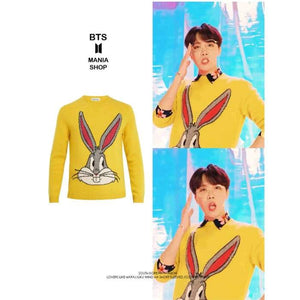 Bts Jhope Idol Mv Bunny Sweater - Bangtan Fashion