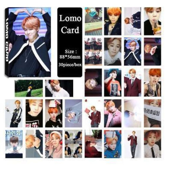 Bts Jimin Special Lomo Card (30Pcs) - Accessories