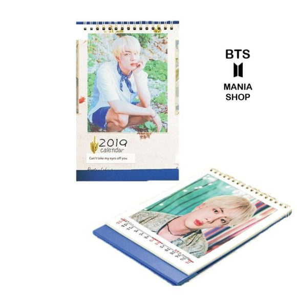 BTS Jin 2019 Calendar - Accessories