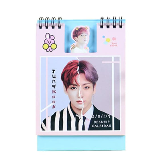 Bts Jungkook Cute Sticky Note Calendar - Accessories