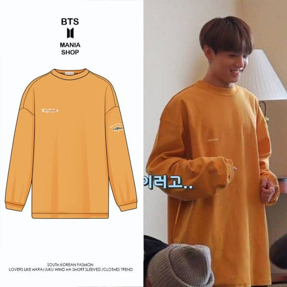 BTS Jungkook Relaxed Cashmere Sweater - Bangtan fashion