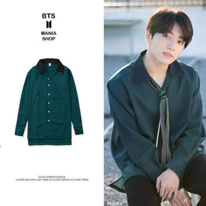 Bts Jungkook Retro Chic Shirt - S - Bangtan Fashion