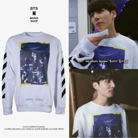 BTS Jungkook Seeing Things Sweater - Bangtan fashion