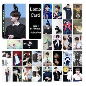 Bts Jungkook Special Lomo Card (30Pcs) - Accessories
