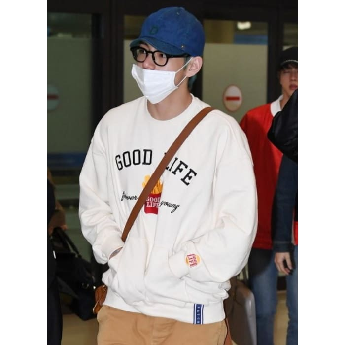 BTS Kim Taehyung Good Life Forever Young Sweater