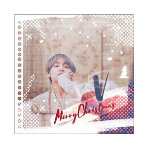 Bts Kim Taehyung Special Christmas Gift Card - Christmas