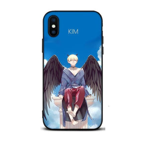 BTS Kim x Flower iPhone Case - For Phone