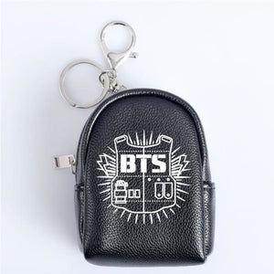 BTS Logos Backpack Keyring - Accessories