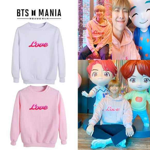 BTS Love House Of BTS RM Sweatshirt - Sweatshirt