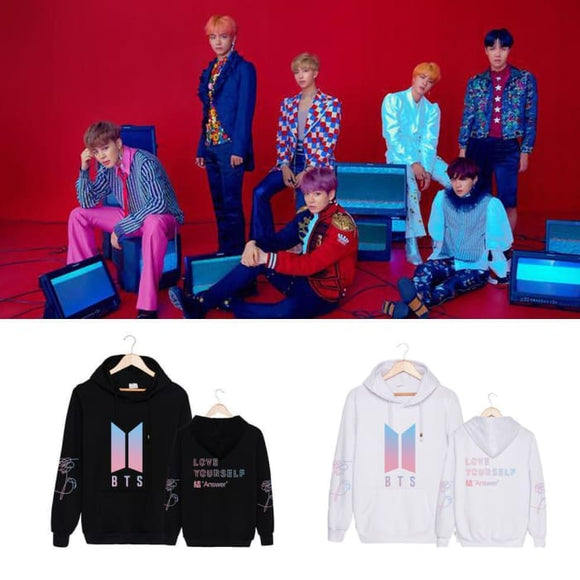 BTS Love Yourself Answer Classic Hoodie - Hoodies & Jackets