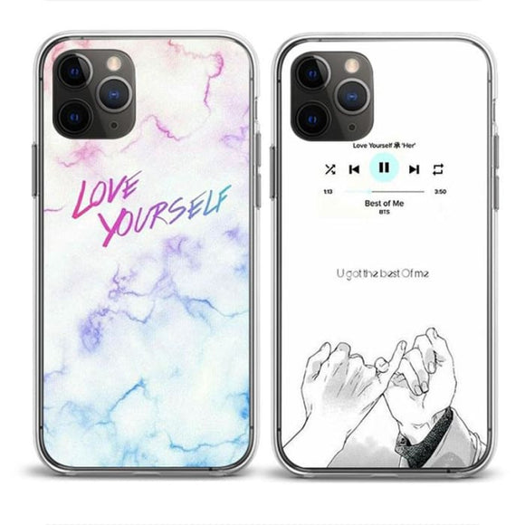 BTS Love Yourself Concept iPhone 11 Case - For Phone
