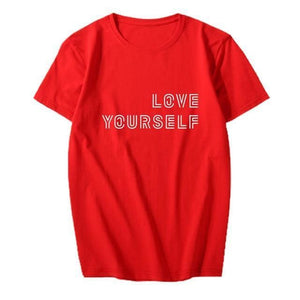 BTS Love Yourself T-shirt (4 colors) - Black / S - T-shirt
