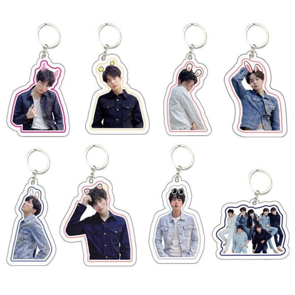 BTS Love Yourself Tear Member Keyring - Accessories