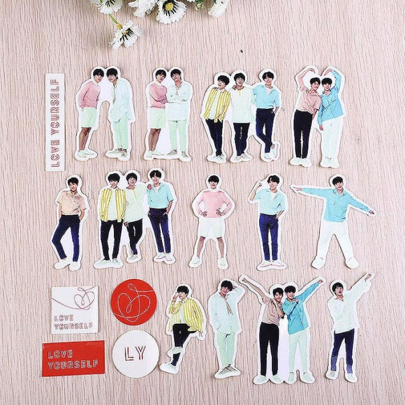 BTS Love Yourself World Tour Stickers - Set A - Stickers