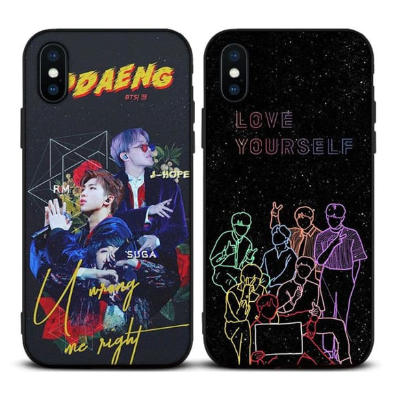 BTS Love Yourself x Ddaeng iPhone Case - For Phone