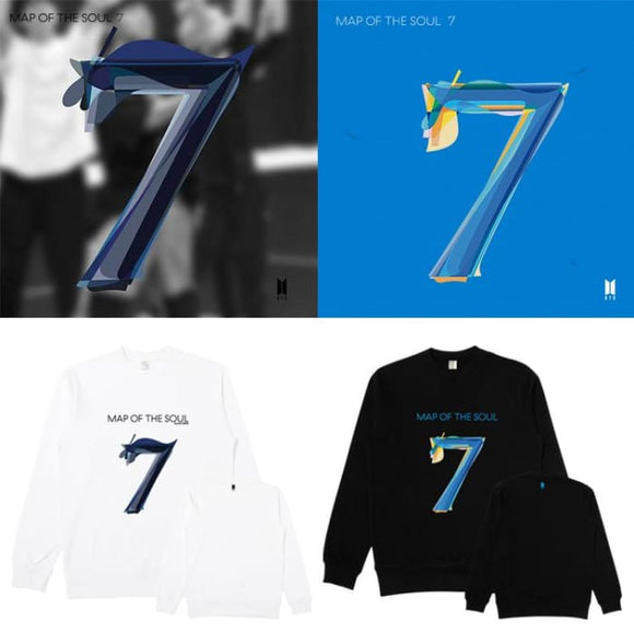 BTS Map Of The Soul: 7 Official Album Sweatshirt - Sweatshirt