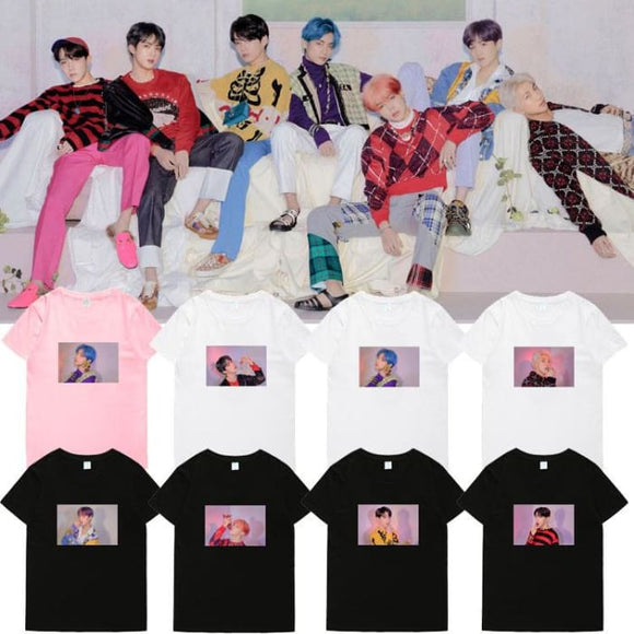 BTS Map Of The Soul Persona 4 Member T-shirt - T-shirt
