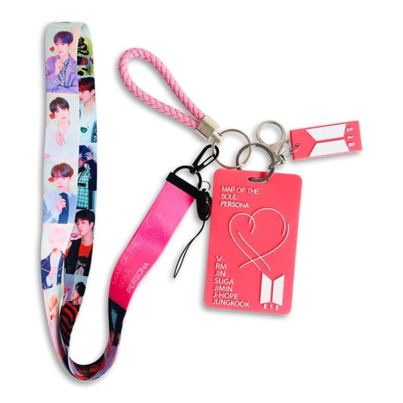 BTS Map Of The Soul: Persona Card Holder Lanyard - Accessories