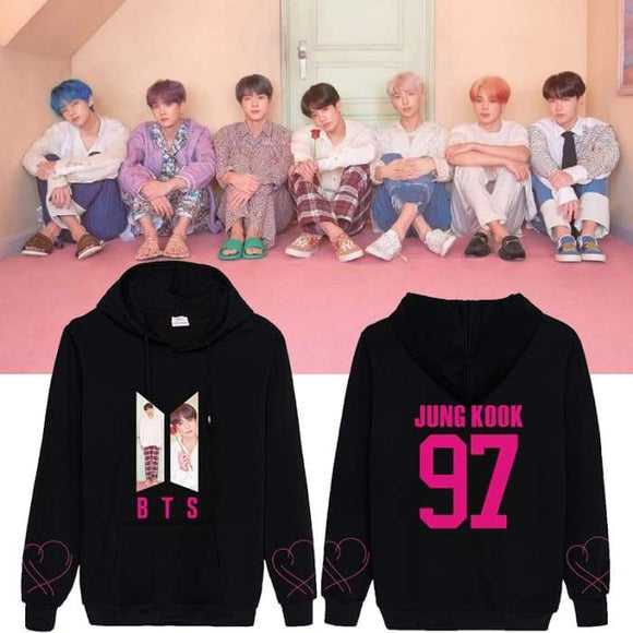 BTS Map Of The Soul Persona Concept 3 Hoodie - Hoodie & Jacket