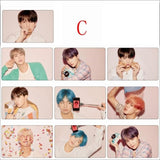 BTS Map Of The Soul Persona Crystal Card - C - Photocard