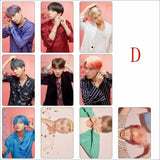 BTS Map Of The Soul Persona Crystal Card - D - Photocard