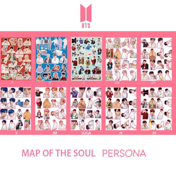 BTS Map Of The Soul Persona Stickers (Full Version) - Sticker