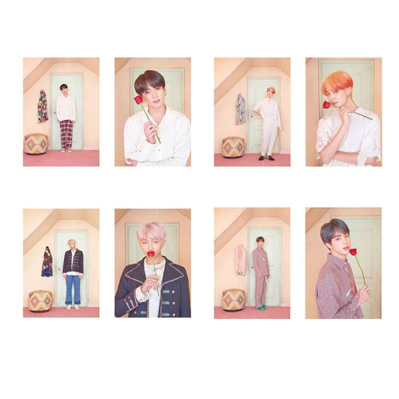 BTS Map Of The Soul: Persona Ver 3 Posters (8 Posters) - Poster