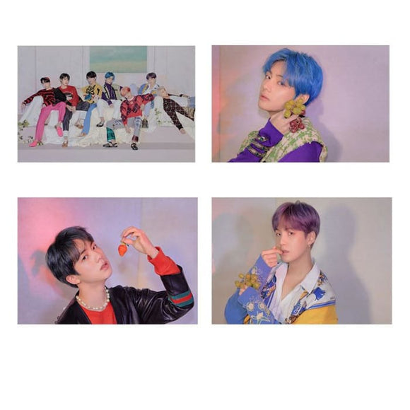 BTS Map Of The Soul: Persona Ver 4 Posters (8 Posters) - Poster