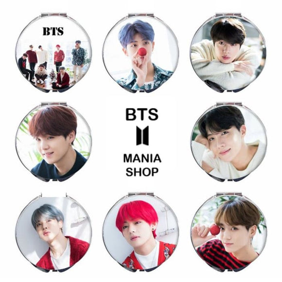 BTS Member Christmas Concept Mirror - Set of 8 (Save 20%) - Accessories