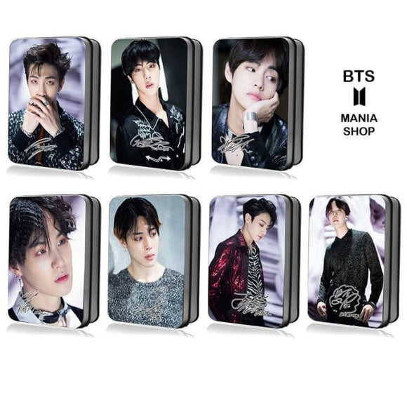 Bts Members Fake Love Mv Photocard