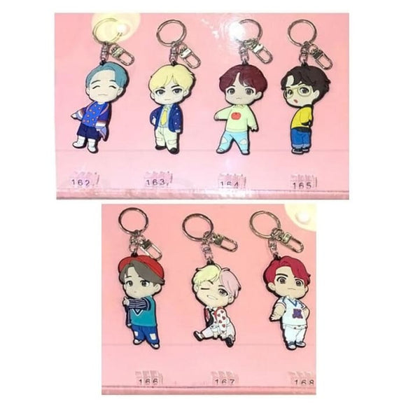 BTS Mini Doll Figure House Of BTS Keyring - RM (162) - House of BTS