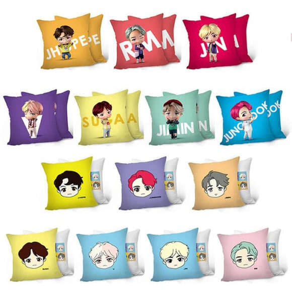 BTS Mini Doll Figure House Of BTS Pillow - House of BTS
