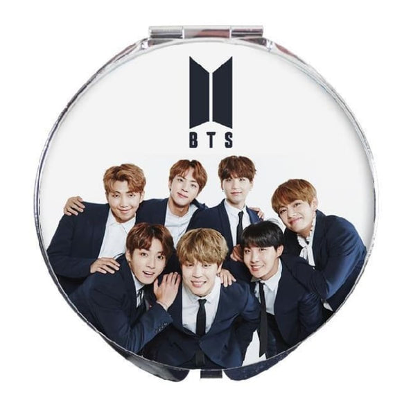 Bts Mini Makeup Mirror - Accessories