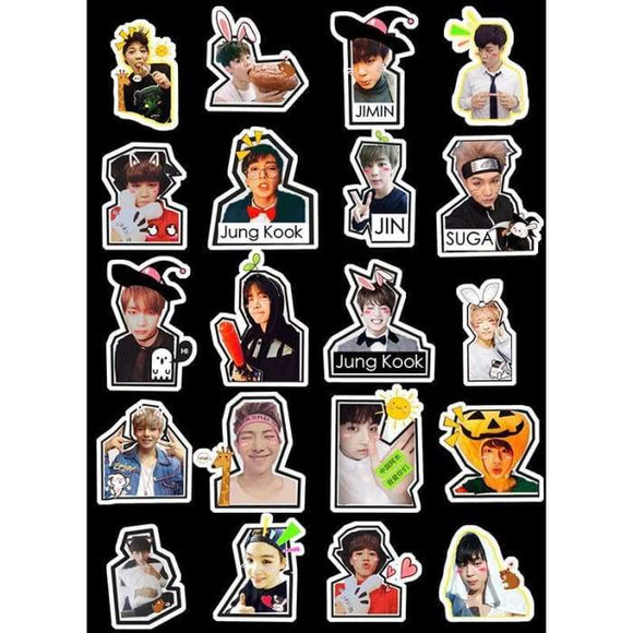 Bts Mood For Love Dope Stickers - Stickers
