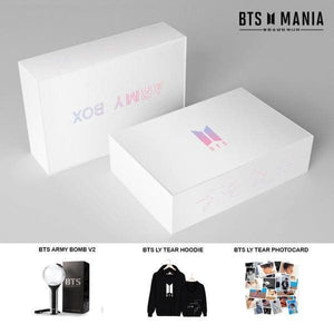 BTS OFFICIAL ARMY BOX (SET 2) - Black / S - Unlisted