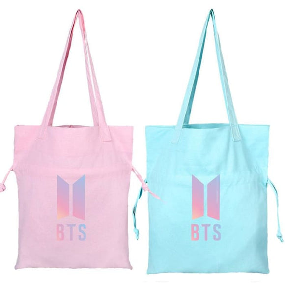 BTS Official Logo Canvas Bag - Bag