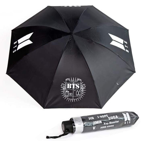 Bts Official Logo Classic Umbrella - Accessories