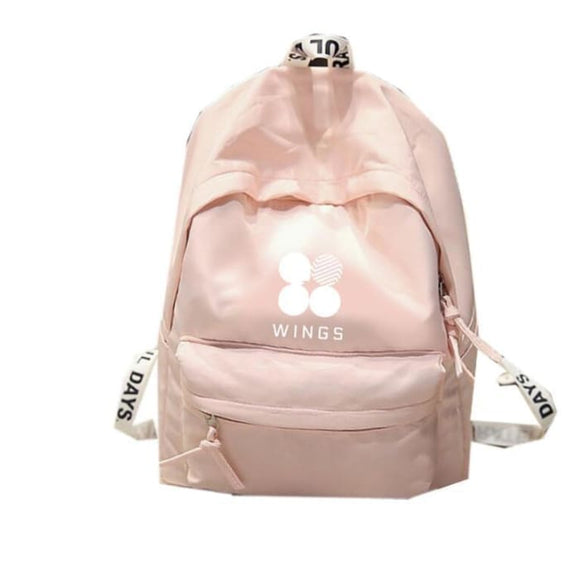 Bts Original Wings Logo Backpack (3 Colors) - Bag