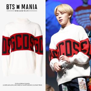 Bts Park Jimin Gcds Sweater - S / As In Picture - Bangtan Fashion