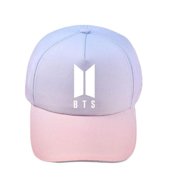 Bts Pink Theme Members Cap - Bts 1 - Hats
