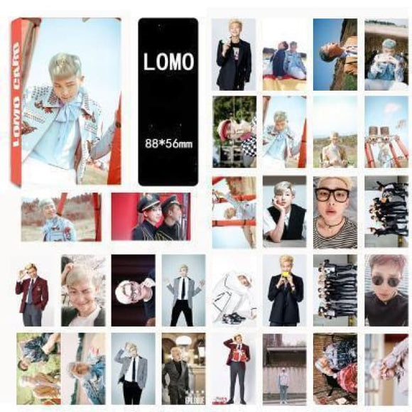 Bts Rapmon Special Lomo Card (30Pcs) - Accessories