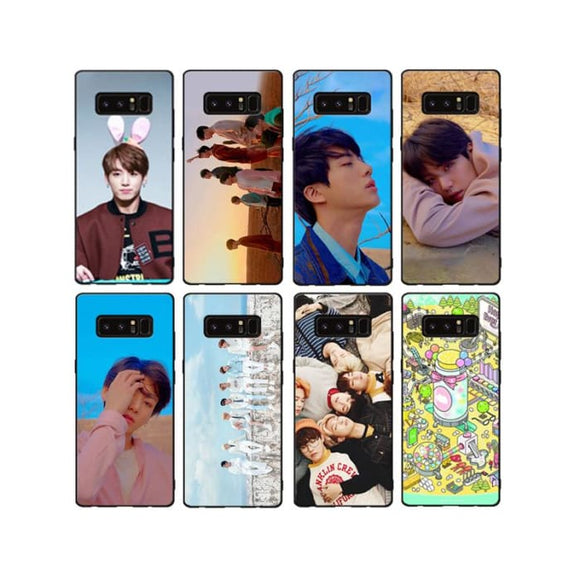 Bts Samsung Phone Case With Accessories (Group 3) - Phone Cases