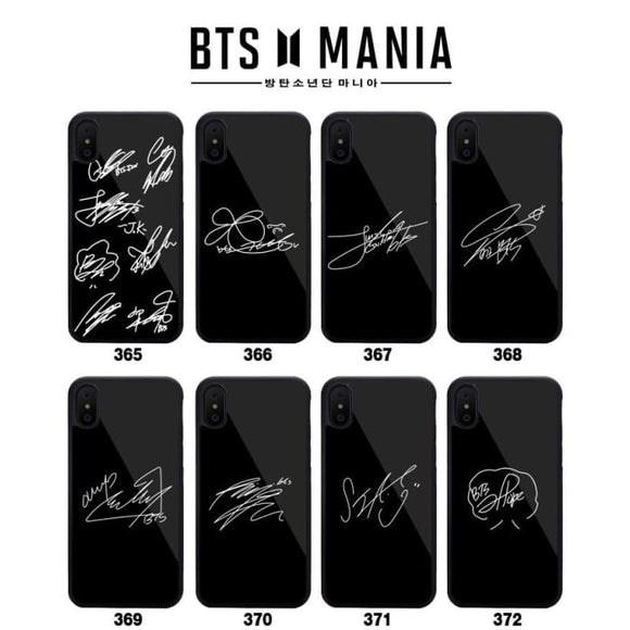 BTS Signature iPhone Phone Case - For Phone