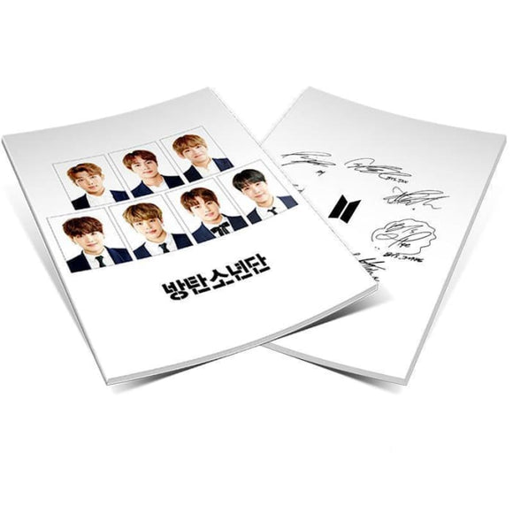 Bts Signature Mini Photobook - Book And Magazine