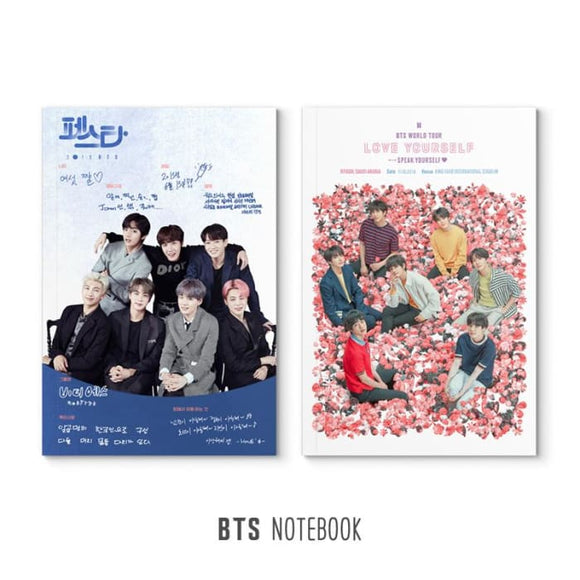 BTS Speak Yourself x Magic Shop Notebook - For school