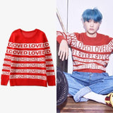 Bts Suga Loved Sweatshirt - Sweatshirts