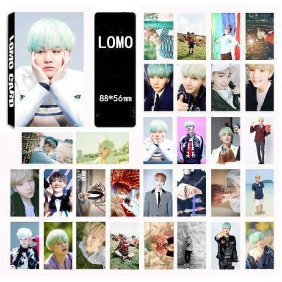 Bts Suga Special Lomo Card (30Pcs) - Accessories