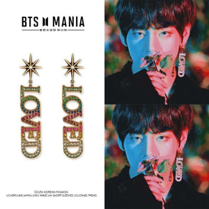 Bts Taehyung Singularity Fashion Loved Earring - Single - Fashion Accessories
