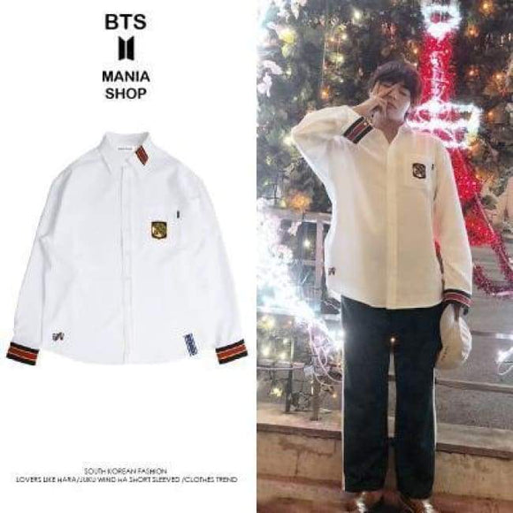 f8b763e54fc Bts Taehyung V Mmd Fashion Shirt - S - Bangtan Fashion