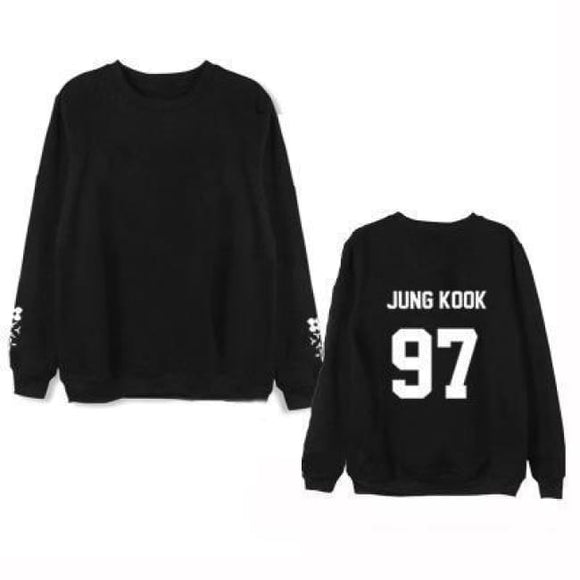 Bts The Wings Tour Classic Sweatshirt - Jung Kook A / S - Sweatshirts